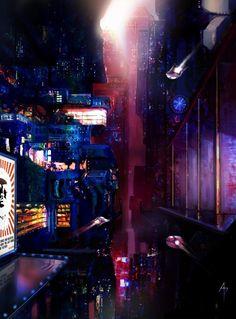 Cityscape by M0nkeyBread on deviantART