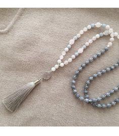Tassel Necklace Quasten Kette Quastenkette Bettelkette Hippie Style Hippiestyle Ibizastyle Ibiza Fashionista Fashion grey grau taupe
