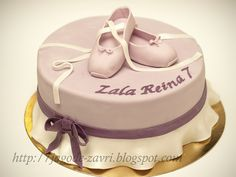 Ballet shoes cake by matejad, via Flickr