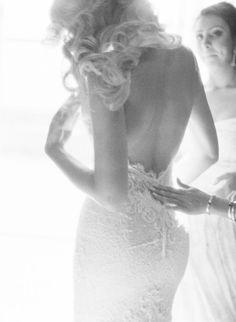 Featured Photographer: Elizabeth Messina Photography; Wedding dress idea.