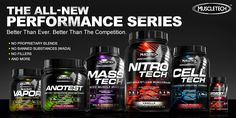 The MuscleTech Performance Series: No Proprietary Blends. No Banned Substances (WADA). No Fillers.