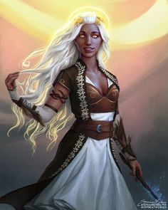 Reani, the aasimar druid guest character from Critical Role, played by Mica Burton. Dnd Characters, Fantasy Characters, Game Of Thrones Characters, Fictional Characters, Character Art, Character Design, Character Ideas, Dnd Elves, Dragon Rpg