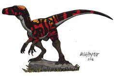 Jurassic Park Herrerasaurus( Own Design) by Hellraptor on DeviantArt