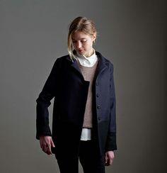 Jackson jacket. Available custom-made or ready-to-wear. http://katherinehooker.com/catalog/winter-collection/jackson/