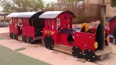 Our modern trains #SpringsPreserve