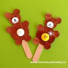 výtvarka medvěd - Hledat Googlem Kids Crafts, Christmas Ornaments, Holiday Decor, Bears, Nature, Carnivals, Xmas Ornaments, Christmas Jewelry, Bear