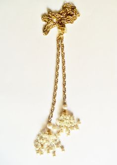 Unique Necklace Adjustable Design Gold Tone by YoursOccasionally, $23.00