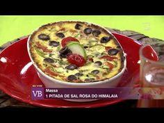 Você Bonita - Torta de tomate com abobrinha e azeitonas (13/10/15) - YouTube
