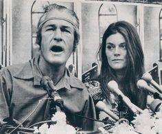 Timothy Leary & wife Rosemary / Press conference / Los Angeles / 20 May 1969 Timothy Leary, Long Beach California, Beat Generation, Civil Rights Movement, Rock Concert, Important People, Celebrity Couples, Famous Faces, The Beatles