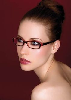 perfect make up for glasses :)