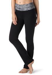 straight spacedye waist yoga pants - maurices.com