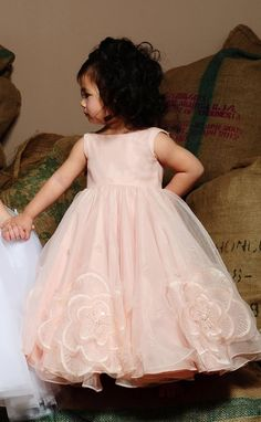 Flower Girl Dress (pink/blush).......
