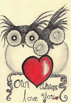 Adorable! Owl always love you