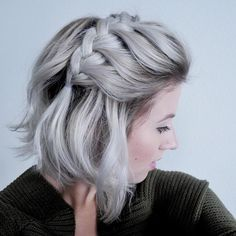 looooove the color. definitely trying silver some day!