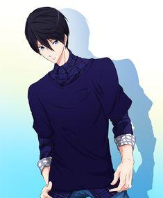 thats gotta hurt. Hot Anime Boy, Anime Guys, Manga Anime, Anime Art, Haruka Nanase, Makoharu, Musaigen No Phantom World, Makoto, Animal Articles