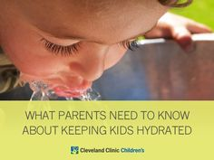 What every #parent needs to know about keeping your kids #hydrated.