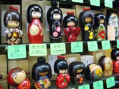 Japanese culture  the kokeshi