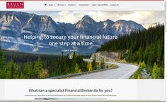 Financial Services firm in Galway offering pensions & investments, designed and built by www.ie web designers in Sligo.
