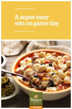 Who doesn't love creamy, rich mac & cheese?  Take fan favorite Panera® Mac and Cheese and combine it with chorizo sausage and other southwestern ingredients for a spicy take on an iconic American dish.