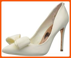 Ted Baker Women's Azeline Text AF Cream Pump - All about women (*Amazon Partner-Link)