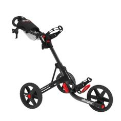 ClicGear 3.5 + Golf Push Cart - Smitty's Dot Golf
