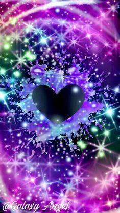 By Artist Mel. Heart Iphone Wallpaper, Bling Wallpaper, Butterfly Wallpaper, Cute Wallpaper Backgrounds, Love Wallpaper, Cellphone Wallpaper, Cute Wallpapers, Dreamcatcher Wallpaper, Heart Bubbles