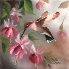 Hummingbird+Fuschias+5x5+by+PaulieRollins.deviantart.com+on+@DeviantArt