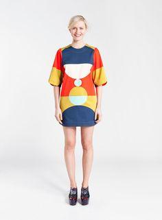 Matsi-tunika (punainen, sinappi, turkoosi) |Vaatteet, Naiset, Puserot ja t-paidat | Marimekko