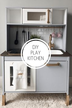 9 Amazingly clever Ikea hacks for the kitchen HunkerIkea hacks for your kitchen! From cool new closet fronts to clever DIY kitchen islands, you can save money by turning the Ikea basics into something that Ikea Childrens Kitchen, Ikea Toy Kitchen Hack, Toddler Play Kitchen, Diy Kids Kitchen, Kitchen Hacks, Wooden Toy Kitchen, Ikea Toys, Cocina Diy, Ikea Hacks