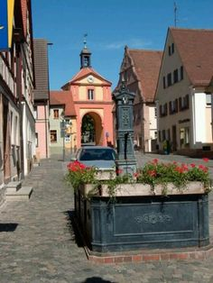 Windsbach, Germany. Walking through this beautiful little town is like stepping back in time