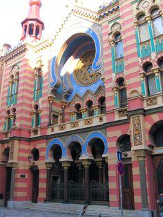 Jubilee Synagogue, Prague, dedicated 1906 (repin), uncredited