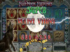 Získajte bohatstvo vďaka osudu Dr. Blackwooda. http://www.hracie-automaty.com/hry/full-moon-fortunes-automaty #fullmoonfortunes #hracieautomaty #hry #vyhra