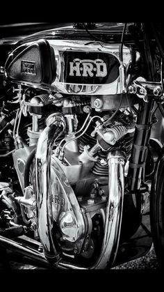 HRD Vincent Rapide Series A [? Motorcycle Engine, Cafe Racer Motorcycle, Motorcycle Art, Bike Art, British Motorcycles, Vintage Motorcycles, Custom Motorcycles, Triumph Motorcycles, Vintage Bikes