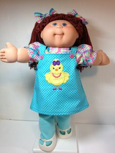 Cabbage Patch Easter Chick in Shoes