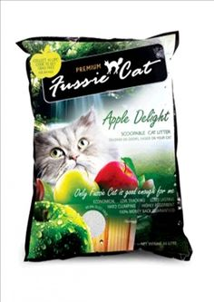 Fussie Cat Litter #litterbox - Care for cat at Catsincare.com!