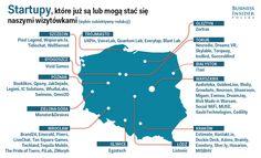 Część polskich startupów ma siedziby lub biura za granicą, np. Azimo (startup polsko-brytyjski), Codility czy UXPin