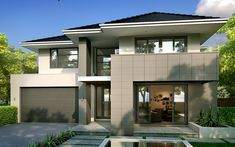 Modern, New Home Designs - Metricon