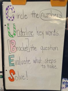 Cubes strategy used with math problems. Cubes Math Strategy, Teaching Strategies, Teaching Math, Teaching Ideas, Third Grade Math, Sixth Grade, Fourth Grade, Fun Math Activities, Math Resources