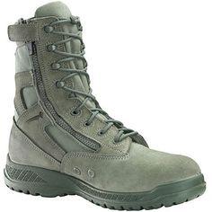 610Z ST Belleville Men's Tactical Zip Safety Boots - Sage Green Belleville Boots, Combat Boots, Fashion Shoes, Shoe Boots, Footwear, Sage, Zip, Casual, Green