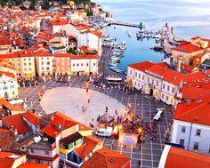 Tartini Square @ Piran, Slovenia