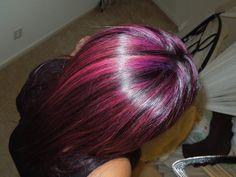 Throwback When I had purple hair