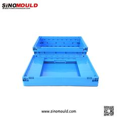 C-serie Foldable Crate, size 600*400*150mm. Welcome to follow and contact us! Email: sino-mould@hotmail.com. Whatsapp: +86 158-5868-5625.