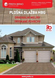 Plošná dlažba HBG | Prefa Brno