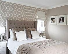Gray Bedroom, Trendy Bedroom, Bedroom Colors, Home Decor Bedroom, Modern Bedroom, Bedroom Furniture, Home Furniture, Bedroom Ideas, Contemporary Bedroom