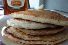 Homemade Gluten-Free Protein Pancakes. These high-protein, low-fat, gluten-free pancakes require only three ingredients and will keep you full for a good long while.