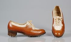 Shoes, Athletic G. Fox & Company (American, founded Date: ca. Fox Company, Body Adornment, Pretty Shoes, Vintage Shoes, Vintage Fashion, 1930s Fashion, Vintage Style, Vintage Antiques, Athletic Shoes