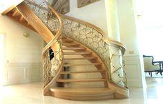 schody drewniane, spiralne, kręcone, wooden stairs