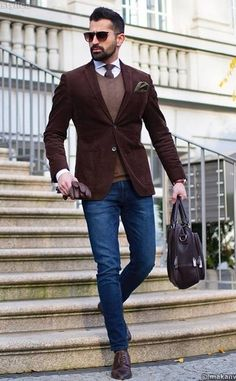 Business Casual Outfit Ideas For The Week Ahead – Men's style, accessories, mens fashion trends 2020 Smart Casual Work Outfit, Smart Casual Men, Casual Office, Casual Dressy, Smart Men, Dressy Outfits, Work Outfits, Business Casual Outfits Men, Mens Smart Casual Outfits