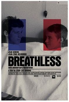 Breathless // A Bout de Souffle  Love this though I've never seen the film