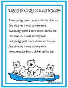 Arctic Animals~Early Literacy Lessons and Center Activities